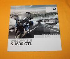 BMW K 1600 GTL 2010 Prospekt Brochure Depliant Catalog Prospect Folder