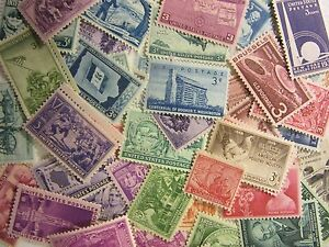 US stamp lot 200 ALL DIFFERENT X 2 = 400 total MNH 1/2 to 5 CENT FREE SHIPPING