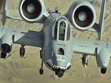 MILITARY AIR PLANE FIGHTER JET A-10 THUNDERBOLT II AFGHANISTAN POSTER ART BB983A