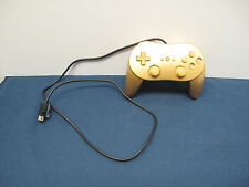 Wii Classic Controller Gold Zelda Tested