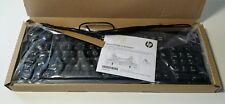 Lot of 2 New HP Black Keyboard KU-1156 PN 672647-003 - Genuine