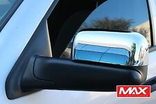 MCDO104 - 02-09 Dodge Ram 2500/3500 Chrome Side Mirror Cover w/ Towing Mirrors
