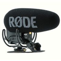 Rode VideoMic Pro+ Pro Plus On-Camera Shotgun Microphone Rycote Lyre 2017