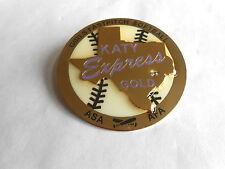 Katy Texas Express Gold Asa Afa Girls Fastpitch Softball Trading Pin