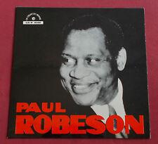 "PAUL ROBESON LP ORIG FR 25 CM 10"" RECITAL  MINT"
