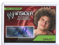 WWE Carlito 2006 Topps Ultimate Insider Authentic Autograph Card