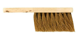 Wooden Hand Brush With Soft Bristles Natural Coconut Fibres 100% Biodegradable