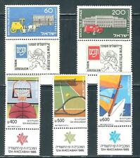 Israel - Two MNH Sets with Tabs.........................Q16 - # 7929