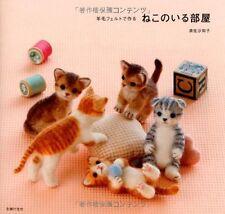 Needle Felt Cute Cats - Japanese Craft Book