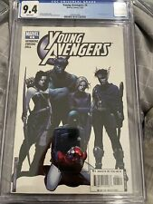 Young Avengers #6 CGC 9.4 2005 WHITE PAGES 1st Stature