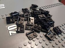 Lego Black Plate Modified 1x2 with Handle X28 CITY CREATOR SPACE STAR WARS 48336