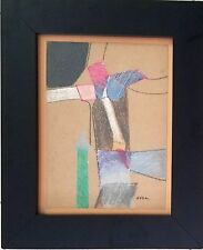 Antonio Vidal. Cuban-Latin american art.Abstract. Los 11. Mix media.