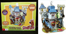 New SCOOBY DOO HAUNTED HOUSE 3D Board Game - 7 SPOOKY MOVING TRAPS Pressman