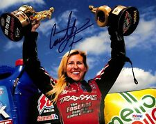 Courtney Force NHRA Drag Racing Authentic Signed 8x10 Photo PSA/DNA #AA43400
