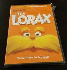 The Lorax (DVD) Dr. Seuss animated film Zac Efron Taylor Swift Ed Helms NEW