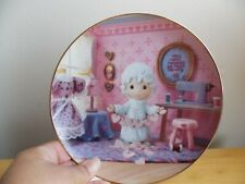 1994 Precious Moments You Have Touched So Many Hearts Collector's Plate