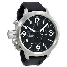 U-Boat Flightdeck Black Dial Automatic Mens Chronograph Watch 1247
