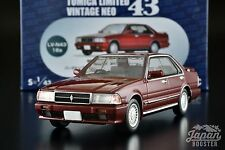 [1/43 TOMICA LIMITED VINTAGE NEO LV-N43-16a] NISSAN CEDRIC GRAN TURISMO SV (Red)