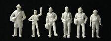 Gauge H0 - 72 Figurines standing unpainted - 6053 NEU