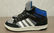 Adidas Neo Hoops, Mid Top, Shoes Trainers Sneakers Sports Footwear, Men's Size 9