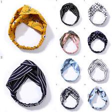 Fashion Women Girl Headband Bowknot Hair Bands Fabric Headwrap Hair Accessories