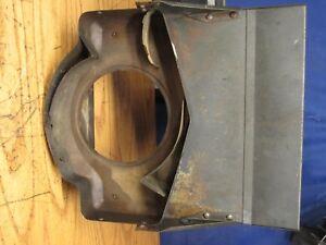 GRASSHOPPER MOWER 1822 Rear engine shield guard Fan Flywheel Driveshaft