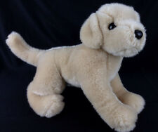 "Douglas Cuddle Toy Golden Retriever Lab Puppy Dog  Plush 11"" Brown Tan Stuffed"