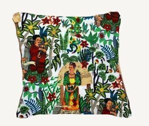 Indian Frida Khalo All Colors Cushion Cover All Size Sofa Decorate Cushion Cover