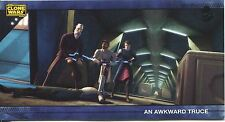 Star Wars Clone Wars Widevision Silver Stamped Parallel Base Card [500] #41