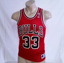 VTG Champion Jersey Scottie Pippen Chicago Bulls 90s Original NBA Basketball 36