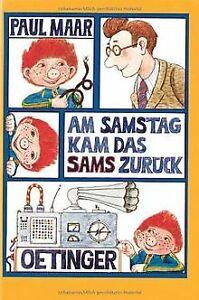 Am Samstag kam das Sams zurück von Maar, Paul | Buch | Zustand gut
