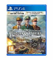 Sudden Strike 4 - Day One Edition For PS4 (New & Sealed)