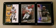 PHILIP RIVERS 3 CARD PLAQUE - SAN DIEGO CHARGERS NORTH CAROLINA STATE WOLFPACK
