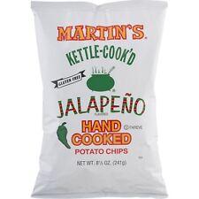 Martin's Kettle-Cook'd Potato Chips Jalapeno- 8.5 Oz (4 Bags)
