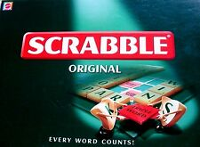 Mattel SCRABBLE Original WORD Board Game Boxed VG Fun Collectable - In Australia