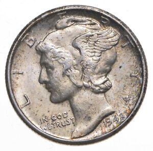 CH Unc 1942-D Mercury Liberty Dime - 90% Silver - From an Original Roll! *237