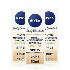 NIVEA Tinted Moisturising Day Cream in a Pack of 3 (3 x 50ml) NEW