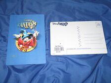 DISNEY FANTASY Cruise Line Exclusive 3-D Motion Postcard ~Mickey Mouse/Fantasia