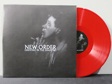 NEW ORDER 'Grieving In The Shadows' RED Vinyl LP NEW