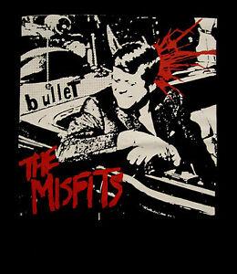THE MISFITS cd cvr BULLET JFK Official SHIRT 2XL New static age samhain danzig