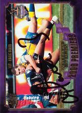 ✺Signed✺ 2009 MELBOURNE STORM NRL Premiers Card ADAM BLAIR