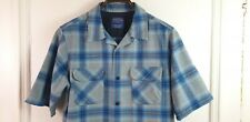 Pendleton Board Shirt Sz L Short Sleeve Fitted
