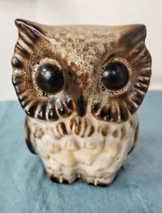 "HOWARD PIERCE OWL FIGURINE 5 1/2"""