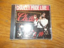CHARLIE PRIDE/CHARLIE PRIDE LIVE CD BRAND NEW SEALED