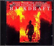 BACKDRAFT Hans Zimmer CD Bruce Homsby & The Range Soundtrack Set me in Motion