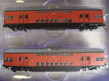 Syd Suburban Double Deck Tullock 1964 Trailers,T4845 & T4912 Tuscan Set, 1A