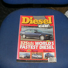 DIESEL CAR ISSUE 66 MARCH 1994 -325tds WORLD'S FASTEST DIESEL/XANTIA 1.9D