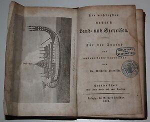 Wilhelm Harnisch: Die wichtigsten neuern Land- und Seereisen. 6. Theil. 1824.