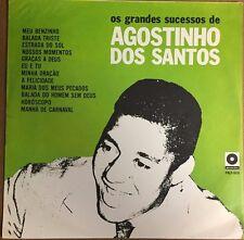 AGOSTINHO DOS SANTOS -OS GRANDES SUCESSOS DE- BRAZILIAN LP 1967 BOSSA NOVA