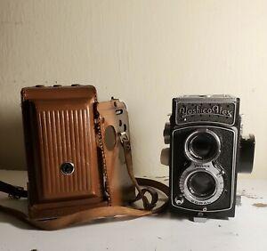 Yashicaflex S 6x6 120 Medium Format TLR Camera